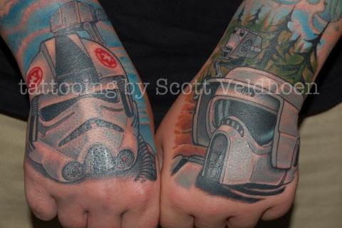 calgary hand tattoo